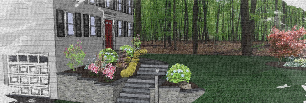 CAD Design for a new walkway and entrance