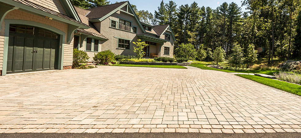 Pavers driveway installed to perfection by Green Boys Landscapes